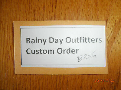 Rainy Day Outfitters Custom Order 10XBR