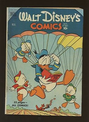 Walt Disney's Comics and Stories 126 VF 4.0 * 1 Book * 1951,Dell! Donald Duck!