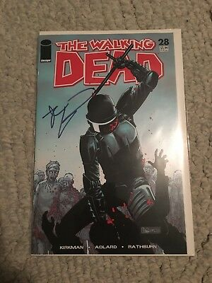 The Walking Dead Comic Issue 28 Signed By Robert Kirkman!
