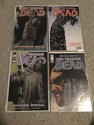 Walking Dead Comic Specials & Free Comic Book Day Lot Governor Tyreese Michonne