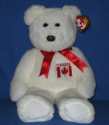TY MAPLE the BEAR BEANIE BUDDY - MINT with MINT TAGS - CANADA EXCLUSIVE b2d6c6642b9