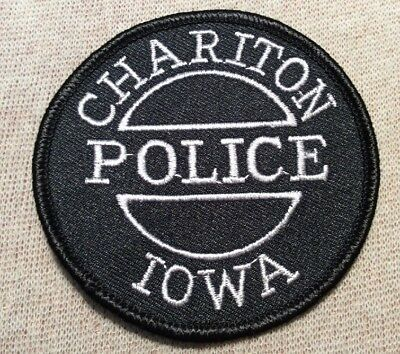 IA Chariton Iowa Police Patch