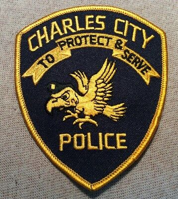 IA Charles City Iowa Police Patch