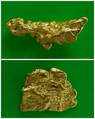 Gold Nuggets 0.79 gms Two Gold Nuggets / Australian / Natural / Gold Nugget