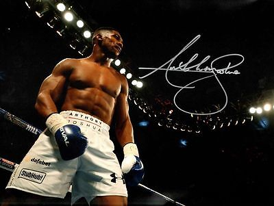 Anthony Joshua A4 260gsm Boxing Photo Picture