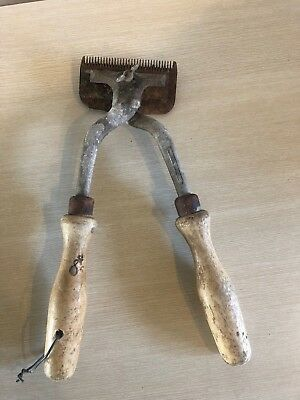 Vintage Horse Hair Clippers - Made In England (Estate Find) Vintage Farm Tool