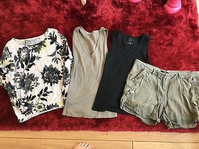 Bundle Of 4 Size 16. Top Shorts And Jumper.