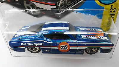 2016 Hot Wheels `69 Ford Torino Talladega 1/64 Sport 1969