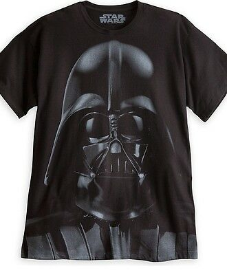 AUTHENTIC DISNEY Darth Vader Tee for Adults size Medium  NEW