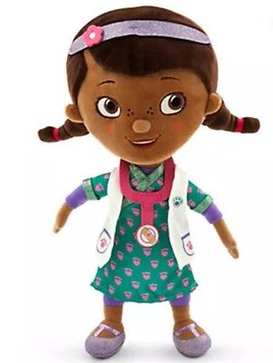 AUTHENTIC DISNEY Doc McStuffins Plush Doll Scrubs - Small - 12''/30.5cm