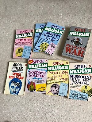 Full Set Of Spike Milligan War Memoirs