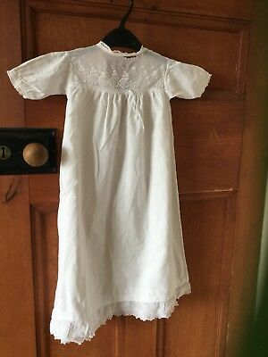 Lovely Childs Victorian Nightdress ~Christening Gown~Porcelain Doll