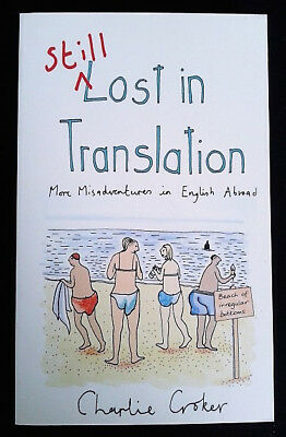 Still Lost in Translation - More Misadventures in English Abroad