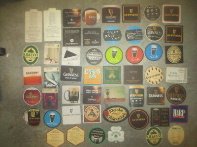 52 different GUINNESS Brewery Australian Issue BEER Coasters collectable
