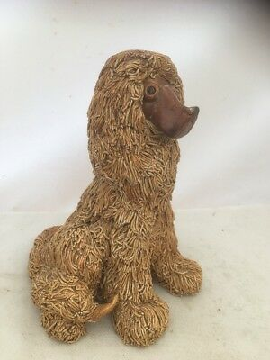 Rare Vintage Yare Dragon Designs Studio Pottery Ginger Shaggy D