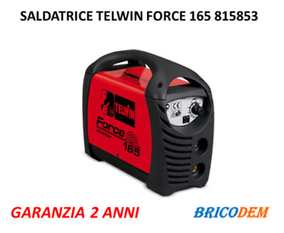 Saldatrice Inverter Telwin Force 165 815853