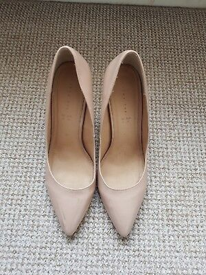 Nude Heels size 8 wide fit,Patent. Used but good condition. Unboxed I'm afraid.