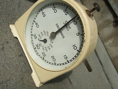 VINTAGE ART DECO SMITHS TIMER SECONDS ENGLISH CLOCK DATES FROM 1940s