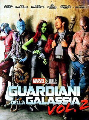 dvd guardiani della galassia vol. 2 marvel