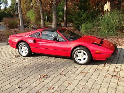 1985 Ferrari 308  One Owner- Immaculate Cond. 6186 miles
