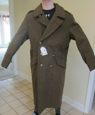 WW1 British Reproduction Overcoat made by What Price Glory