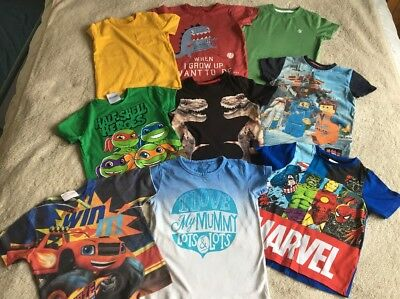 Boys T-shirts Aged 3-4 Years