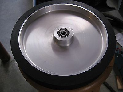 "2""x72"" Belt Sander/Grinder Rubber Contact Wheel,12"" Knife Making Contact Wheel"