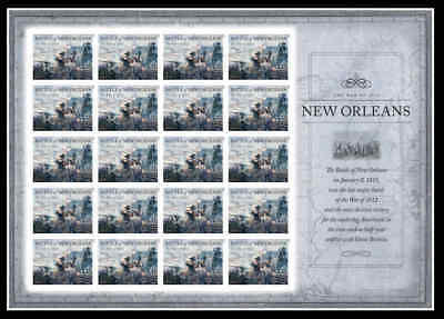 Battle of New Orleans Stamp Sheet 20 Forever MNH 4952