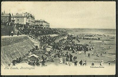 Ansichtskarte: The Sands, Bridlington - Valentines Series
