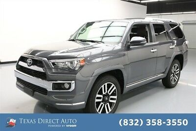 Toyota 4Runner Limited 4dr SUV AWD Texas Direct Auto 2017 Limited 4dr SUV AWD Used 4L V6 24V Automatic 4WD SUV
