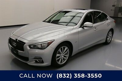 Infiniti Q50 3.0t Premium Texas Direct Auto 2017 3.0t Premium Used Turbo 3L V6 24V Automatic RWD Sedan