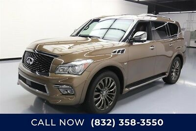 Infiniti QX80 Limited Texas Direct Auto 2017 Limited Used 5.6L V8 32V Automatic AWD SUV Bose Moonroof
