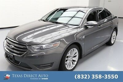 Ford Taurus Limited Texas Direct Auto 2015 Limited Used 3.5L V6 24V Automatic FWD Sedan