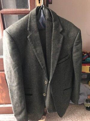Green 3 Piece Suit 46""