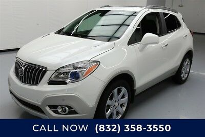 Buick Encore Premium Texas Direct Auto 2013 Premium Used Turbo 1.4L I4 16V Automatic AWD SUV Moonroof