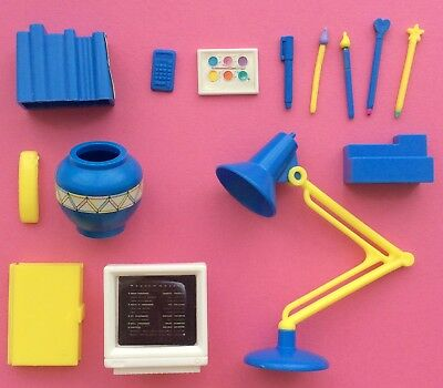 SINDY 'DESK & CHAIR' ACCESSORIES 1990s HASBRO