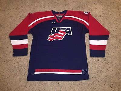 Team USA Nike Vintage Sewn/Stitched Jersey - Youth XL (Could Fit Men's S or M)