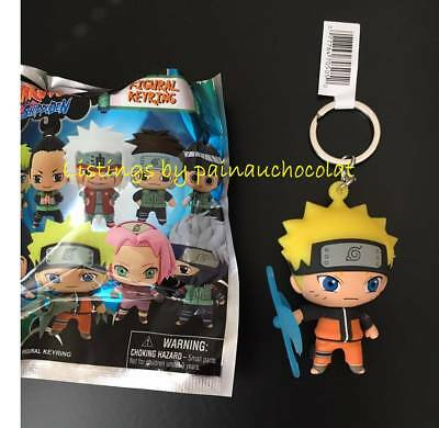 NEW NARUTO SHIPPUDEN 3D Figural Keyring EXCLUSIVE A KEYCHAIN Opened Blind Bag