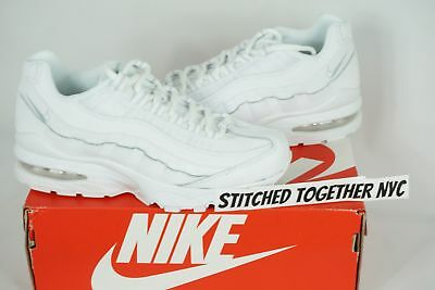 (307565-109) Gs Youth Nike Air Max 95 White/white
