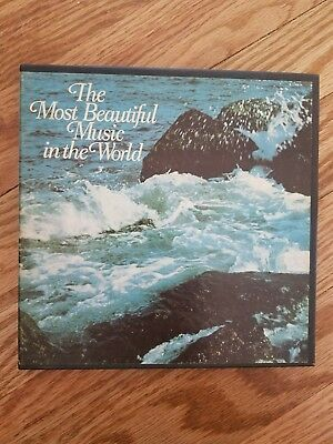 The Most Beautiful Music in the World - rare reel to reel tape 3 3/4 IPS