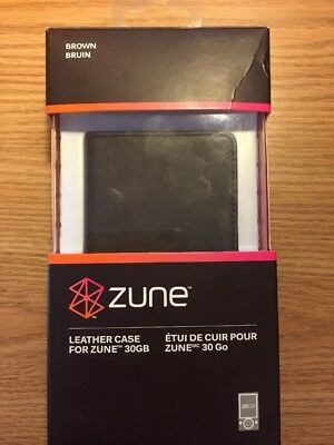 Leather Case for Zune 30gb | Brown Leather Case