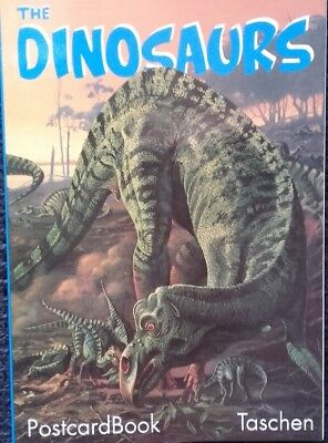 The Dinosaurs (Postcard-Book)
