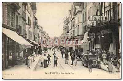 Troyes CPA Rue Emile Zola