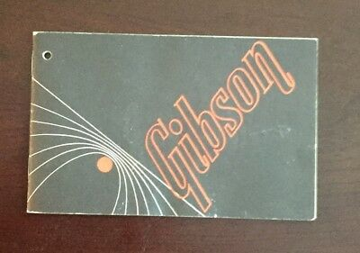 1974 Gibson Les Paul Owner's Manual