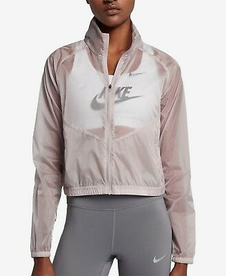 Nike Women's Packable Running Jacket Lavender Transparent Sold Out Free Shipping
