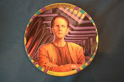 Star Trek DS9 Security Chief Odo Hamilton Collection Collectors Plate #2357B