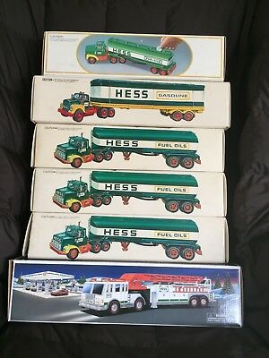 Hess Truck Lot - Years 1977-2000 - All in original boxes!!