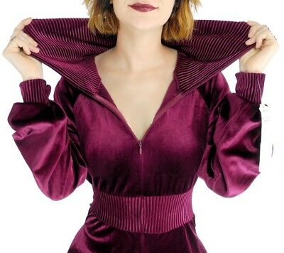Extremely Rare Amazing Vintage Velvet Jumpsuit From USA