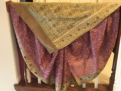 INDIAN ETHNIC WEDDING DESIGNER SAREE PAKISTANI blouse WEAR BOLLYWOOD SARI sa1
