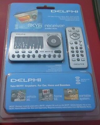 New Delphi Skyfi receiver + remote sa500000-11p1